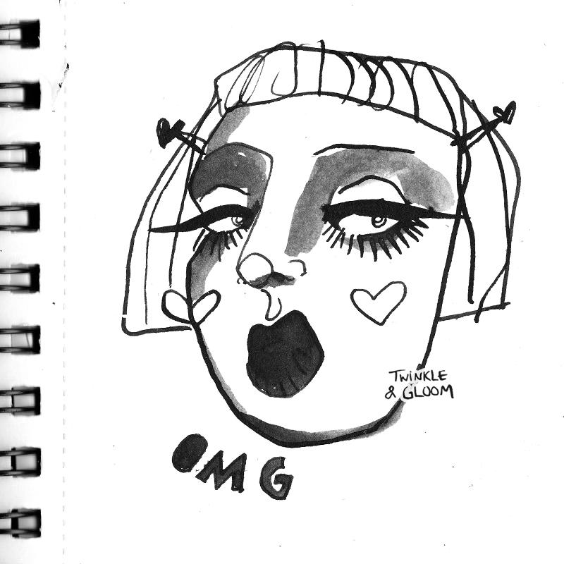 omg sketchbook