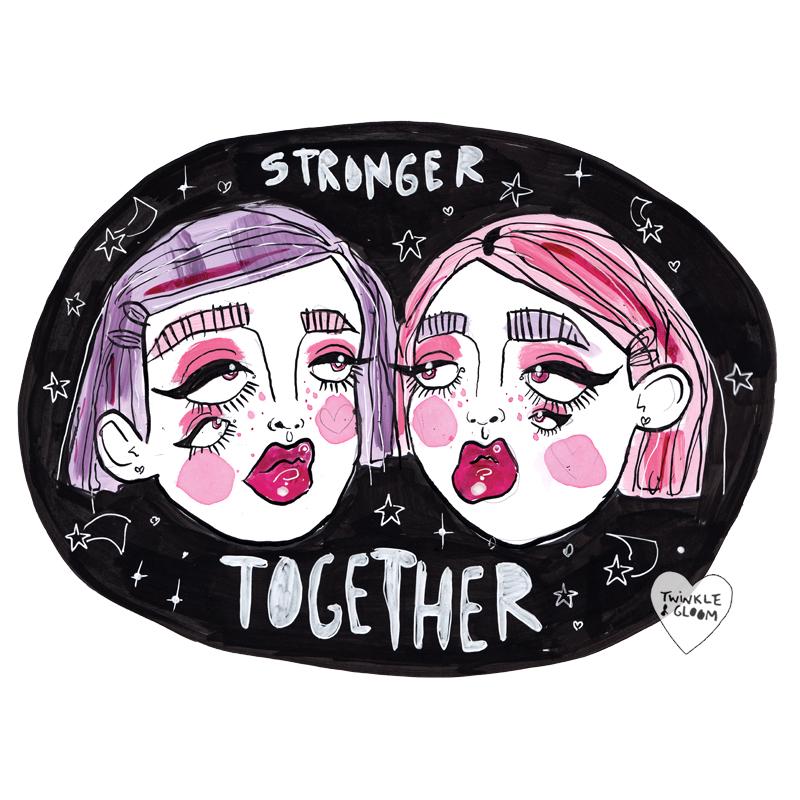 stronger together wb