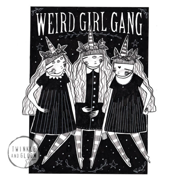 weird girl gang web